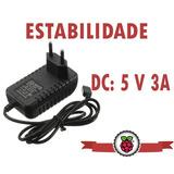 Fonte Carregador Microusb 5v 3a Real Raspberry Pi3