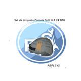 Set Limpieza Consola Split 8-24mil Btu Aire Acondicionado