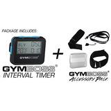 Gymboss Intervalo Del Temporizador Y Cronómetro + Kit Gymbos