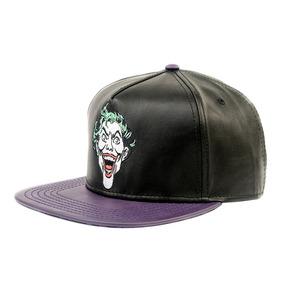 Gorra The Joker Snapback Cap Mascara De Latex Dc Logo
