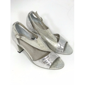 Zapatos - Plateados - Fiesta - 100% Cuero
