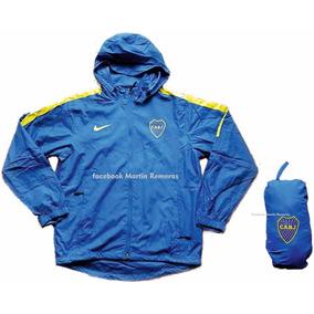 Campera Rompeviento Micofibra Boca Juniors
