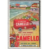 Cod L634 Cuadros Publicidades Antiguas Jabón Camello 1963