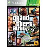 Grand Theft Auto V Xbox 360 Físico Sellado