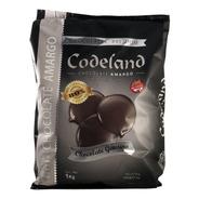 Chocolate Codeland Amargo 80% X 1 Kg