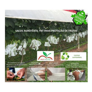 Sacos Agro Tnt C/ Elástico 25x32cm Proteção Frutas 1.000un