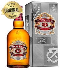 Whisky Escocês 12 Anos Garrafa Original 750ml - Chivas Regal