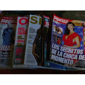 Lote Revistas Pronto Semanario Shop Paparazzi Ohlala Susana