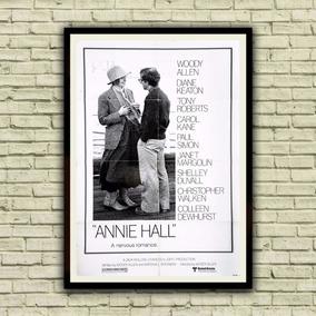 Antigo Poster Cartaz Filme - Annie Hall, 1977