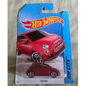 Fiat 500 Hotwheels