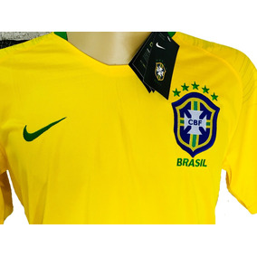 Nova Camisa Nike Futebol Seleção Brasileira Oficial Copa 18
