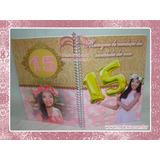 Caderno De Assinatura Personalizado Para Festa De 15 Anos