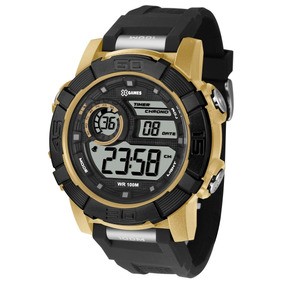 033095b3c33 Relogios X Games Digital Cor Dourado - Relógios De Pulso no Mercado ...