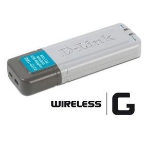 Dlink Wifi Usb Dwl-g122 Es Vieja Hay Que Buscar Dirvers