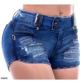 Short Pitbull Jeans Pit Bull Original Com Bojo Bumbum 24600
