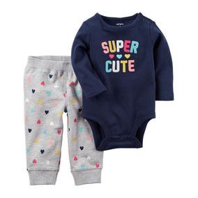 Carters Ropa Bebé Conjunto Niña Talla 3 Meses Carter