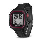 Relógio Esportivo Garmin Forerunner 25 Vermelho 010-01353-00