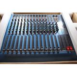 Consola De Sonido American Pro Blue 12 Canales Con Efectos