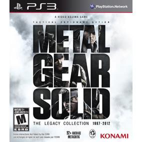 Metal Gear Solid The Legacy Collection Ps3 Fisico Sellado