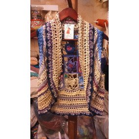 Chaleco Laura Tejido Al Crochet