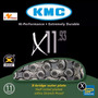 Corrente 11v Kmc X-11 Silver Cromada Bike *original*