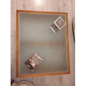 Mesa De Centro De Muebles Placencia Cristal Blanco Mate
