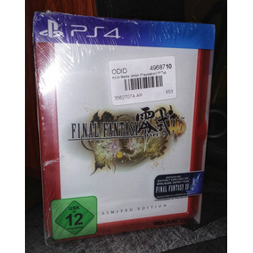 Final Fantasy Type 0 Hd Limited Fr4me Edition Ps4 Fisico