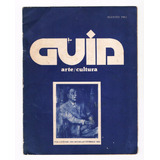 Revista Guía Arte Rosario 1982 (inédito De Borges)