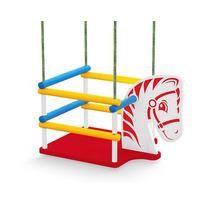 Balanço Cavalinho Para Até 35kg Brinquedo Educativo Madeira