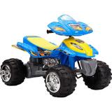 Quadriciclo Infantil 12v Azul Brink Mini Moto Brink Mais