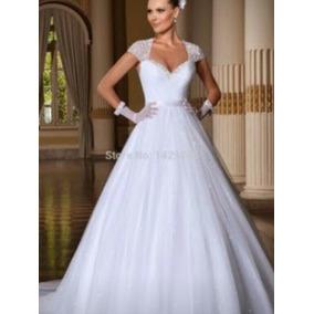 Vestido De Noiva Pluz Size Tamanho 50