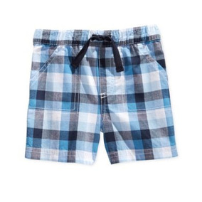 Shorts A Cuadros First Impressions Niño 12 Meses