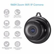 Mini Micro Camera Monitoramento Espia Segurança Hd Wireless