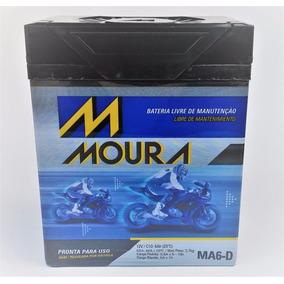Bateria Moto Moura Ma6-d Titan 150 Esd, Sport / Dafra Speed