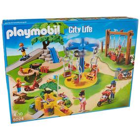 Retromex Playmobil 5024 Parque Infantil Con Juegos Verano