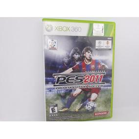 Pes 11 Jogo Original Xbox 360 Mídia Física Pró Evolution