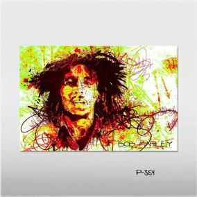 Poster Bob Marley Musica Pop C9p Bandas Rock Decorativo Casa