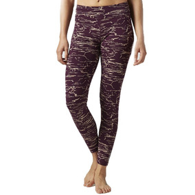 Leggins Malla Estampado Elements Mujer Reebok Bk3894