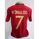 841d3d1d28 Camisa Portugal Cristiano Ronaldo 2018 - Futebol no Mercado Livre Brasil