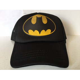 Gorra Batman Escudo Gamer Friki Moda Novedosa Unisex