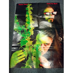 Poster Gigante Triple Faith No More Bret Michaels Mind Funk