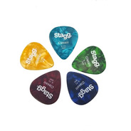 Set De 5 Puas Stagg Para Guitarra