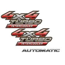 Adesivos 4x4 + Automatic + Hilux 2009 À 15 - Modelo Original