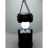Lampião Led Luminária Elétrico Recarregável Solar E A Pilhas