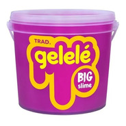 Slime Gelele Balde Tradicional Doce Brinquedo 1,5kg