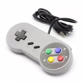 Controle Super Nintendo Usb Pc Snes Super Nes
