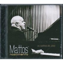 Cd Mattos Nascimento - Os Sonhos De José (bônus_playback)