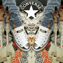 Converse All Star Cuero Y Tela Usa