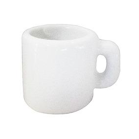 Canecas Porcelana Mini Mug Branca Lisa 1,50