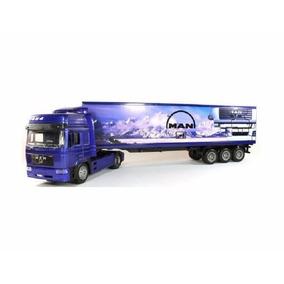 Caminhão Man F2000 Carreta Container 1/43 New Ray